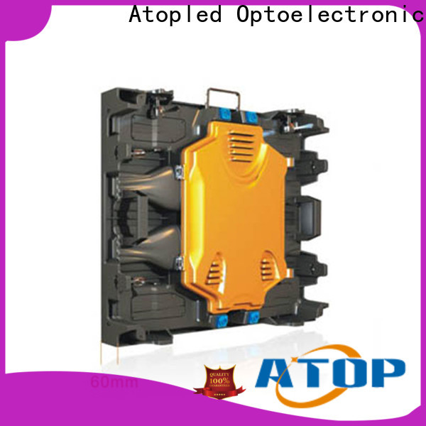 Atop reliability outdoor advertising led display screen with reliable quality for both outdoor and indoor