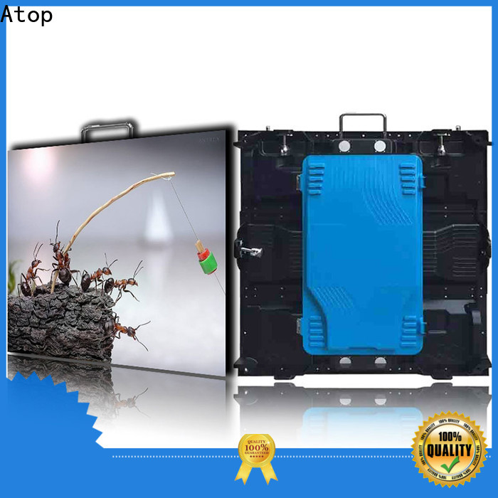 high quality outdoor led panel aluminum with reliable quality in market