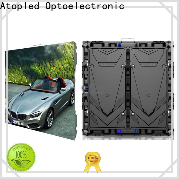 Atop automatically led wall panel design with relaible quality for advertising