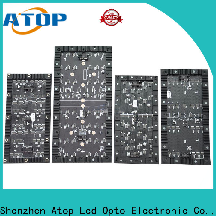 Atop advanced flexible led screen price with small-unit for exhibition