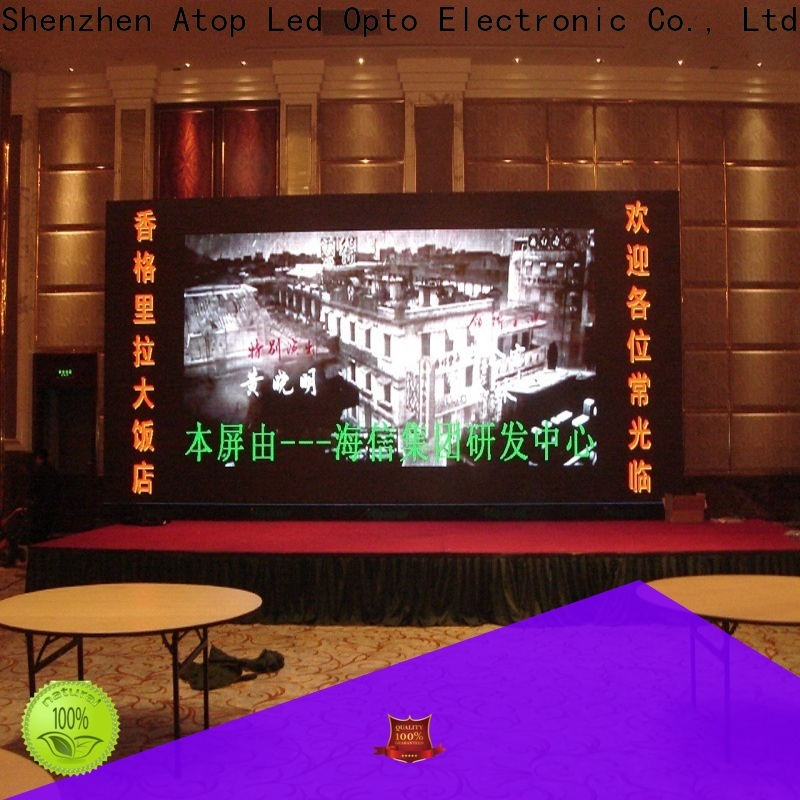 favorable led video wall for sale color with the stringent quality standards for indoor led display