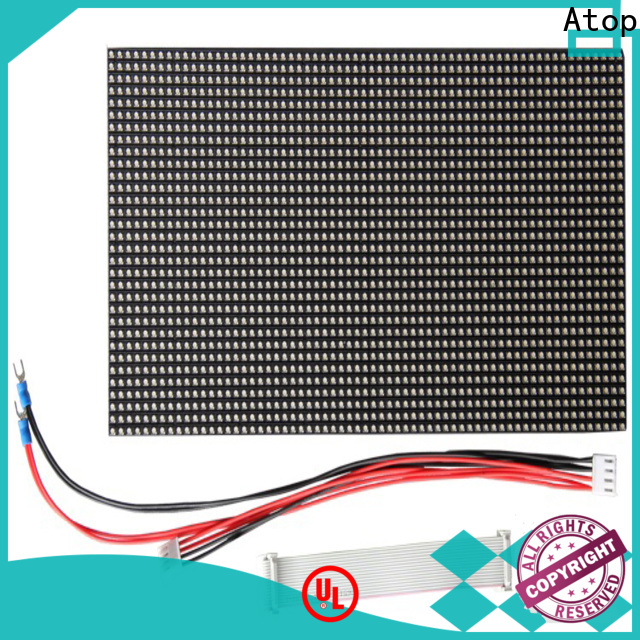 Atop size rgbw led module easy operation for advertising