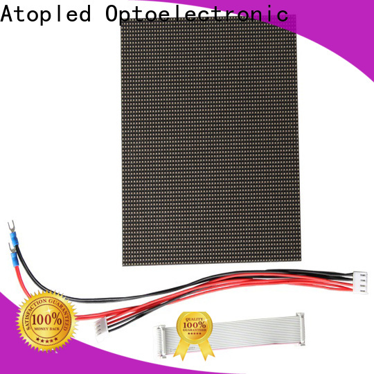 Atop screen led display module to meet different need in market