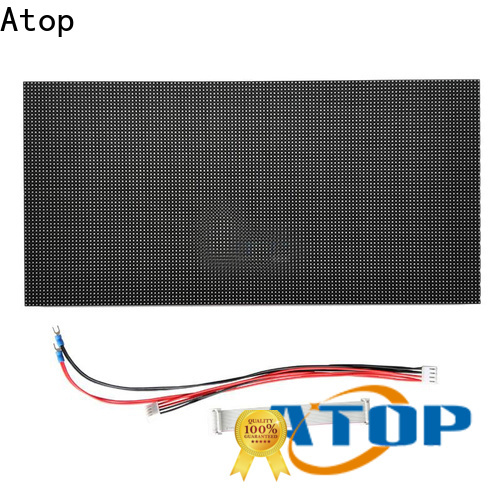 Atop panel round led module for indoor rental led display