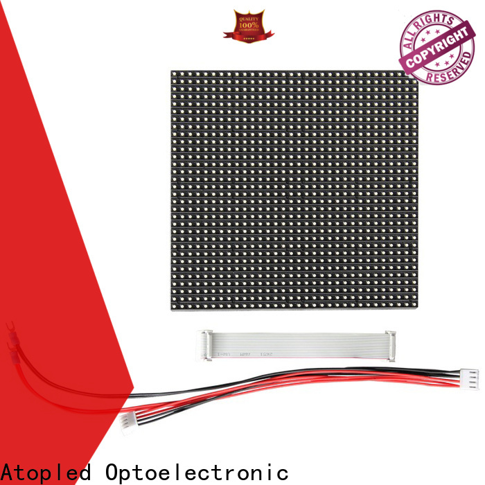 Atop color p6 led module to meet different need in market