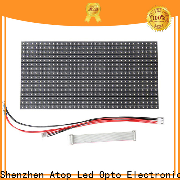 Atop screen led module price for advertising