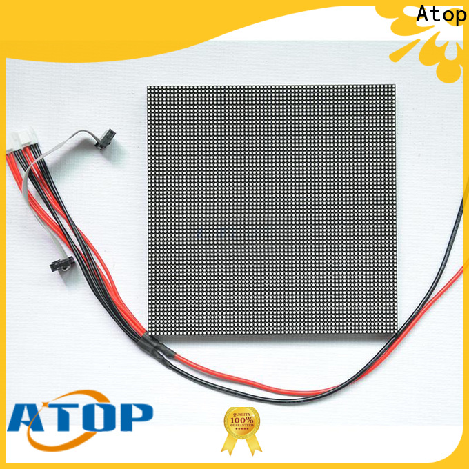 online outdoor led module size to meet different need in market