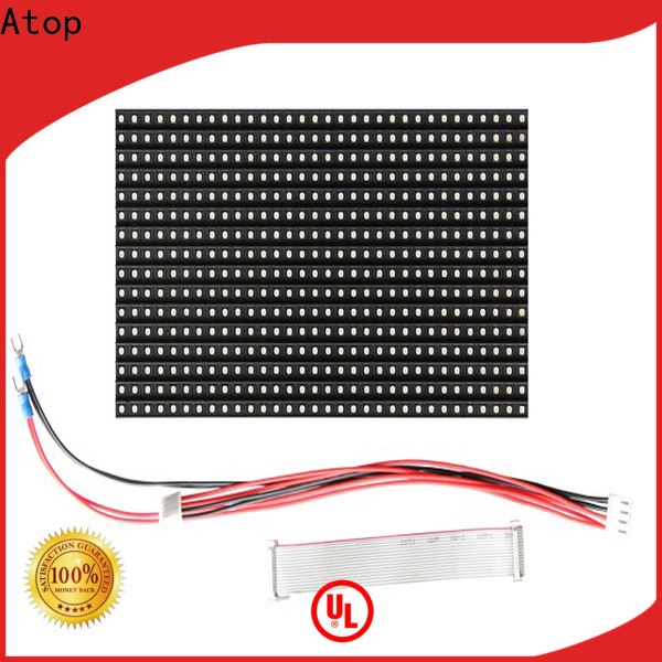 Atop color led module price with relaible quality in market