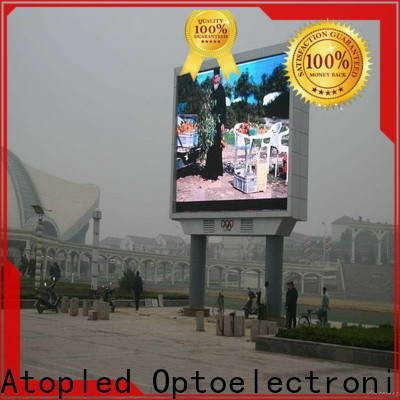 Atop display outdoor advertising led display on sale for display