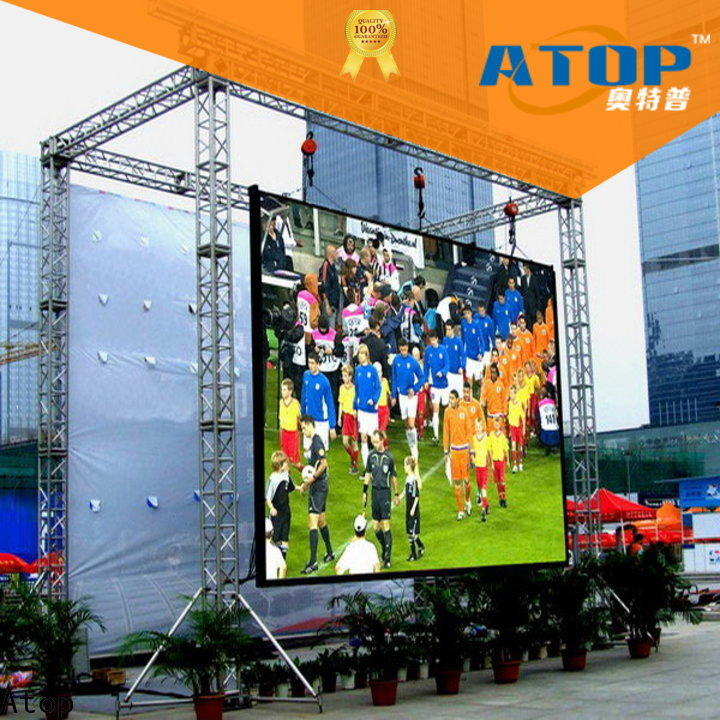 online small led screen display for both outdoor and indoor