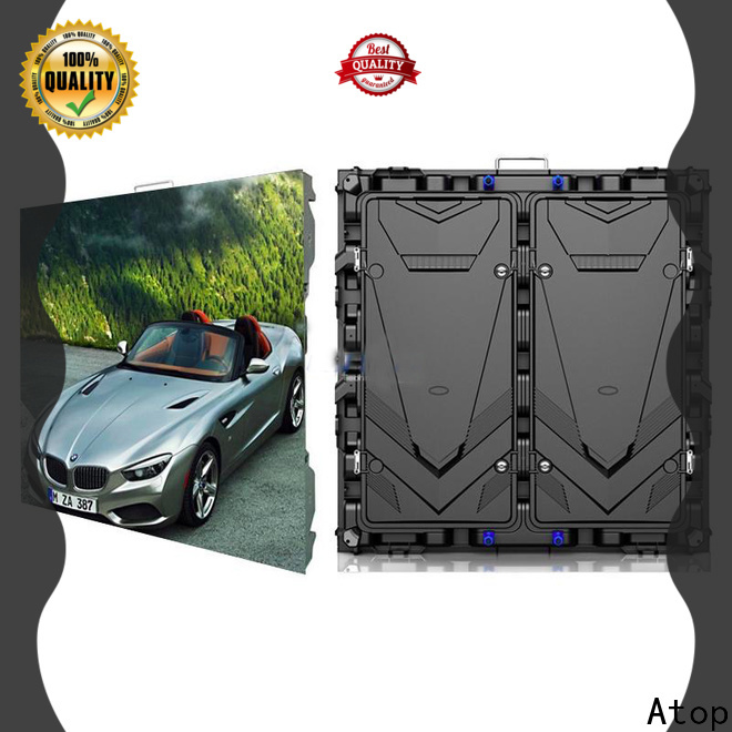 Atop installation p2 led screen on sale for advertising