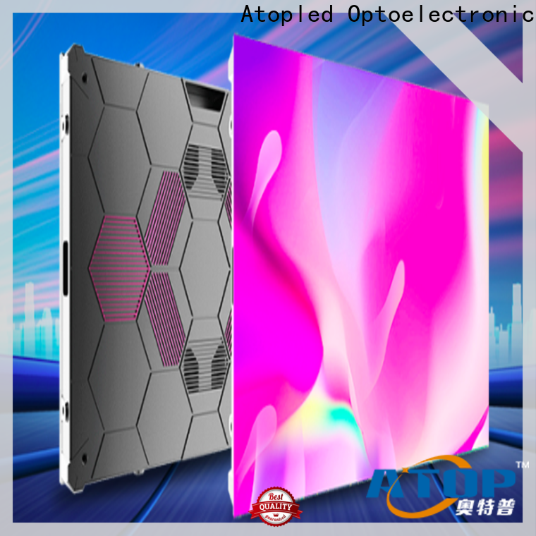 Atop led panel manufacturers with the stringent quality standards for company advertising