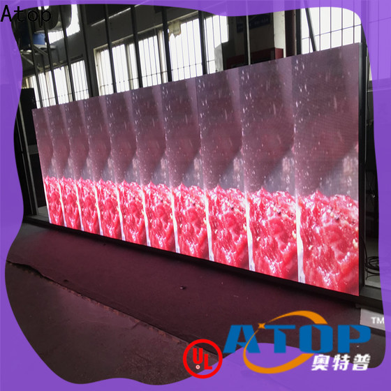 wholesale led video wall business factory for company advertising