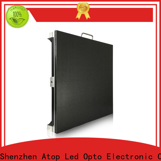 Atop sale stage led display in strict accordance with relevant national standards for LED screen