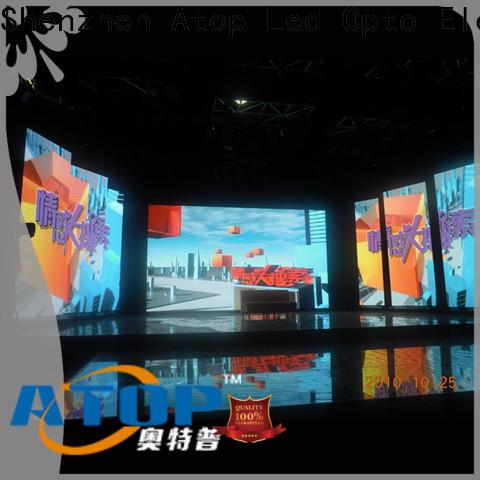 Atop custom Indoor Rental led Display with high-quality for indoor rental led display