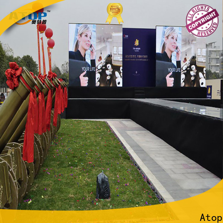 custom digital advertising board outdoor with reliable quality for company advertising