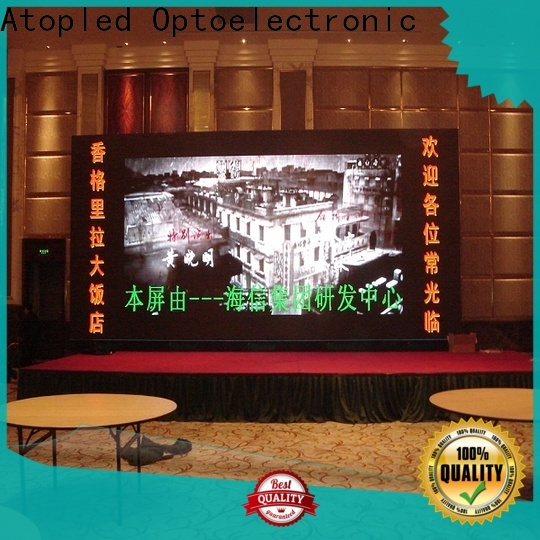 Atop mounted led wall for sale with the stringent quality standards for advertising