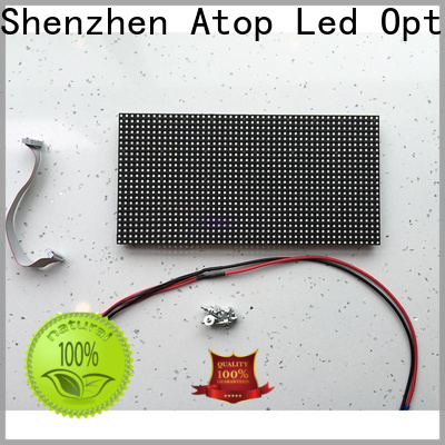 Atop online outdoor led module with relaible quality for indoor rental led display