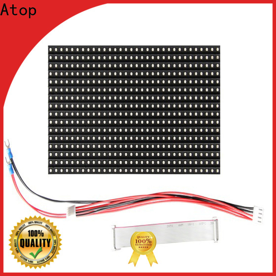 Atop panel 12v led module easy operation for indoor rental led display