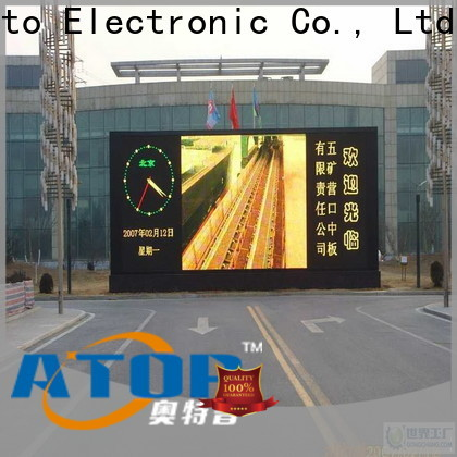 Atop led outdoor advertising led display with relaible quality for display