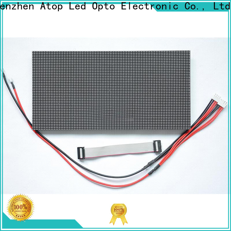 Atop size led module lights with relaible quality for indoor rental led display