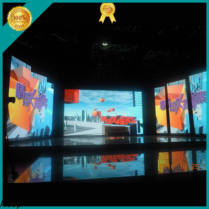 Atop definition rental led display with high-quality for LED screen