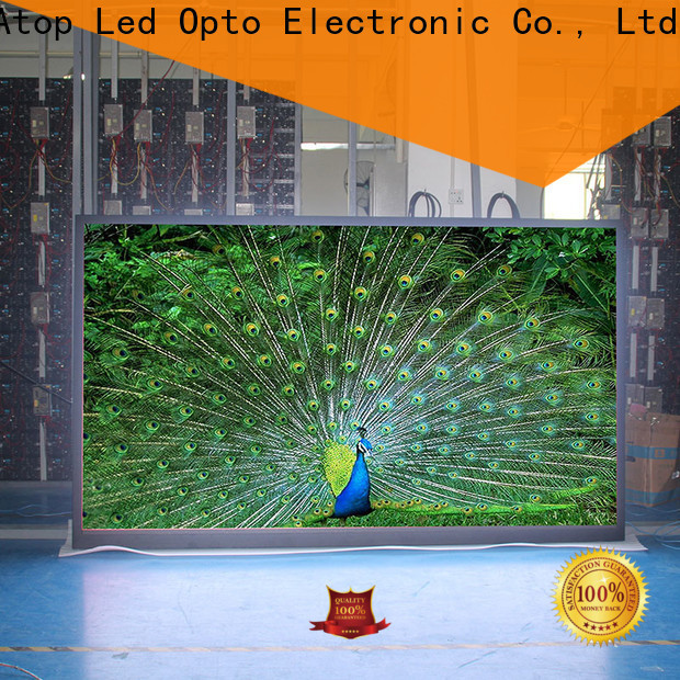 excellent led display screen rental easy assembling