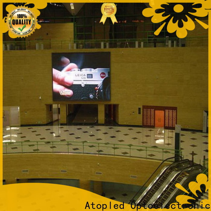 Atop color led rental display in strict accordance with relevant national standards for your led display applications