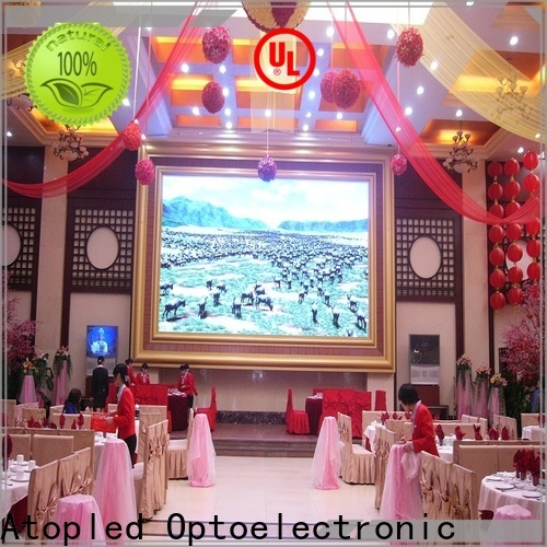 favorable advertising led panel wall with reliable driving IC for advertising