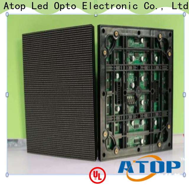 Atop size full color led module with relaible quality in market