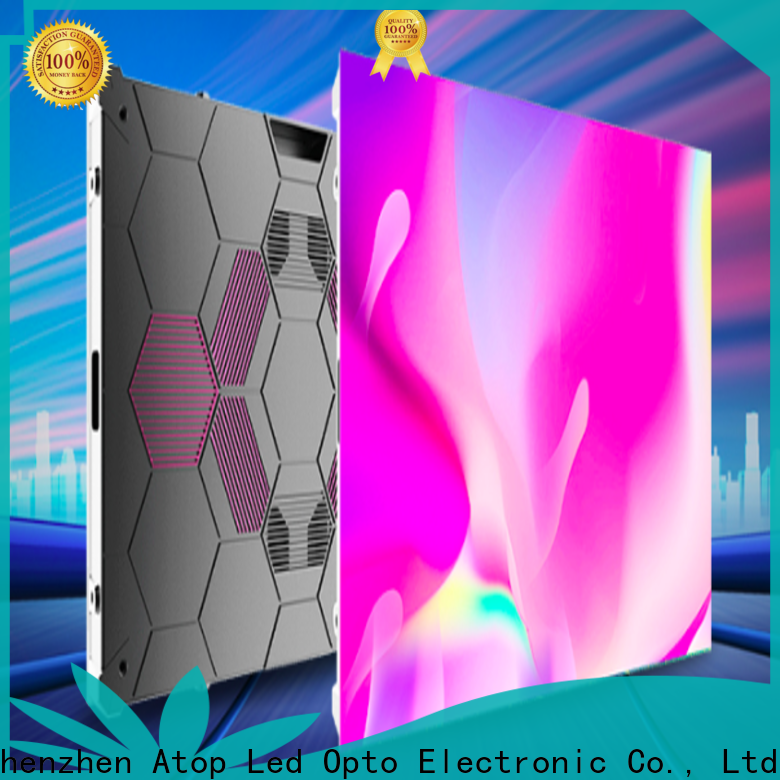 Atop cost-effective small led display with the stringent quality standards for company advertising