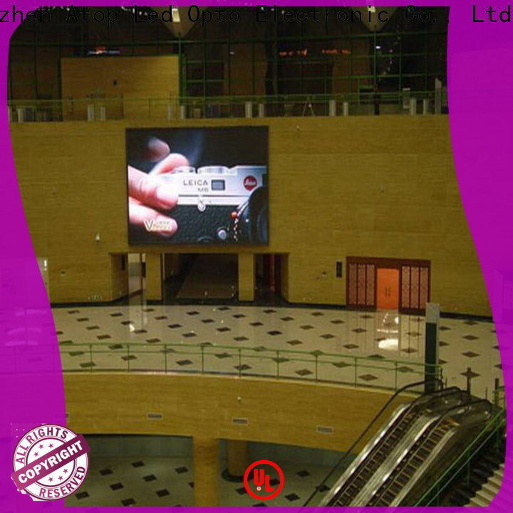Atop hd videowall in strict accordance with relevant national standards