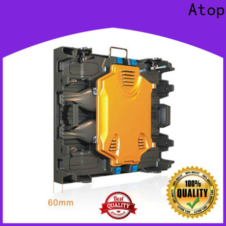 Atop full led display price with reliable quality in market
