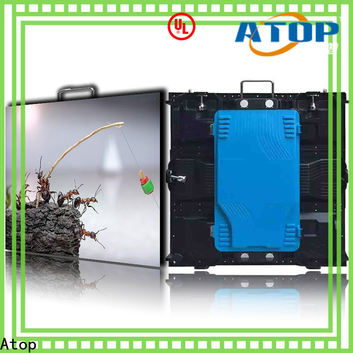 automatically advertising led screen super with reliable quality in market