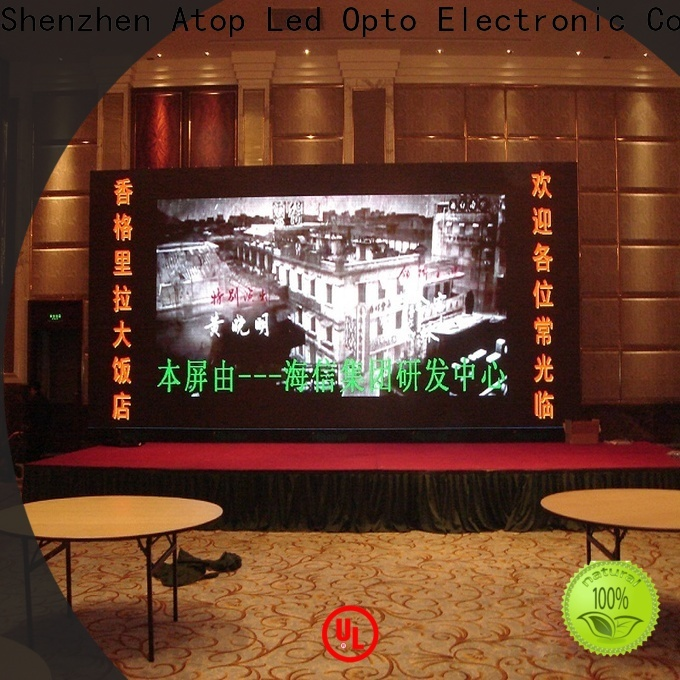 good consistency flexible lcd panel installation with relaible quality for indoor led display