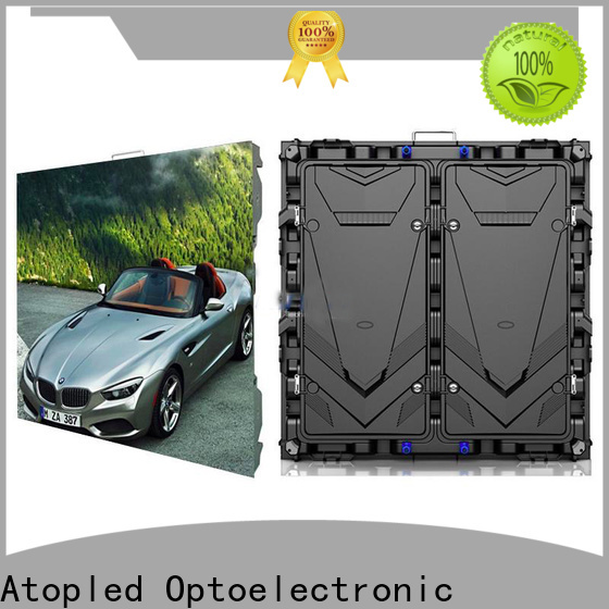 Atop outdoor transparent screens with relaible quality for display