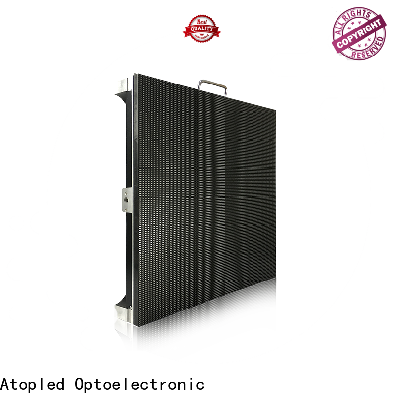 Atop advertising stage led screen easy assembling for your led display applications