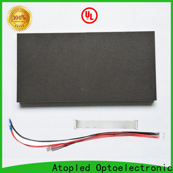 Atop customized flexible led module easy operation for advertising