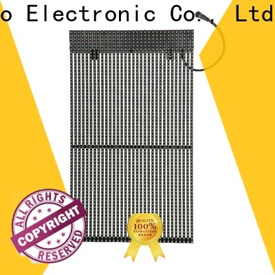 Atop custom led curtain price with high transparency for financial institutions