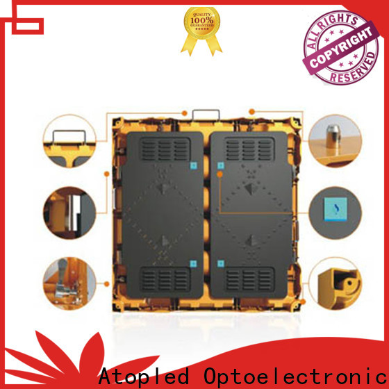 reliability led display controller outdoor with high precision for company advertising