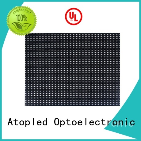 Atop customized p6 led module easy operation in market