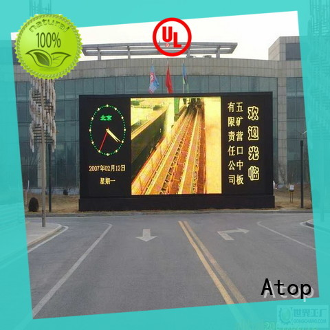 P8 Outdoor fixed installation led display screen