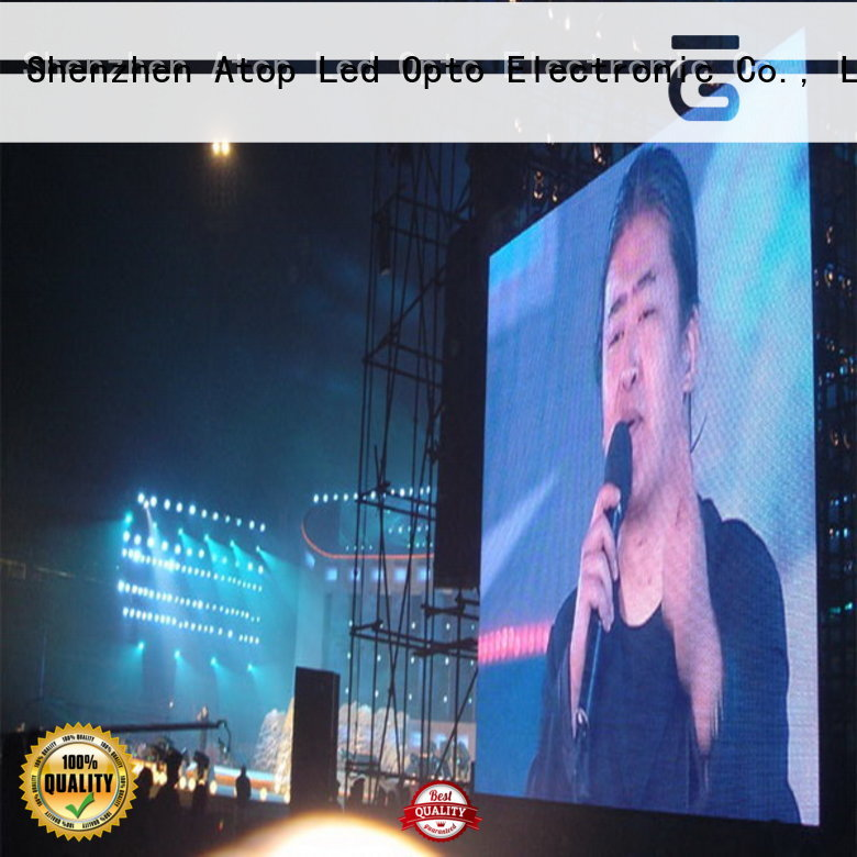 automatically outdoor led screen hire perimeter with high precision for both outdoor and indoor