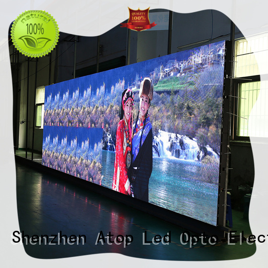 Atop display led wall in strict accordance with relevant national standards for indoor rental led display