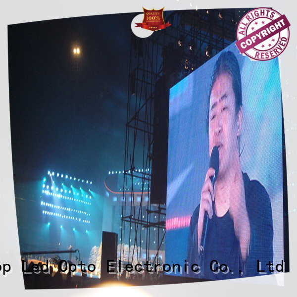 reliability stadium led display screen alloy with high precision in market