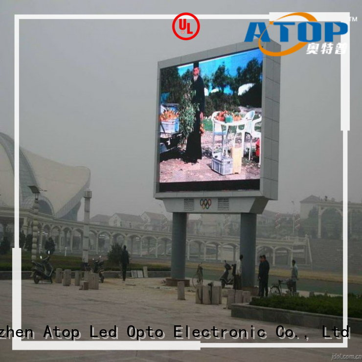 Atop outdoor outdoor led display in market、