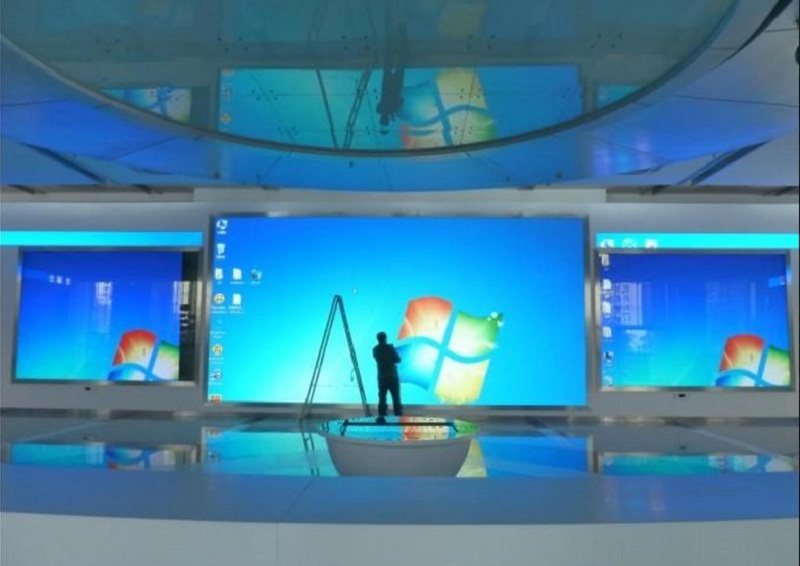 High reliability P3 indoor fixed installation led display