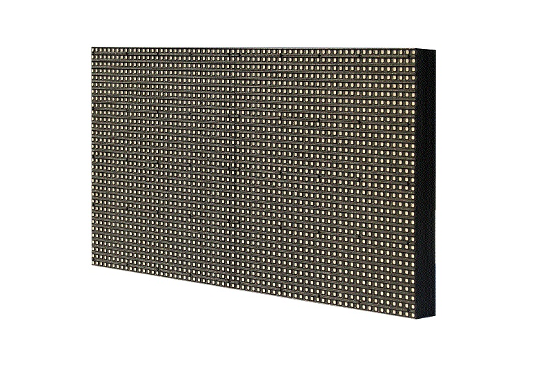 online round led module size with relaible quality for indoor rental led display-1
