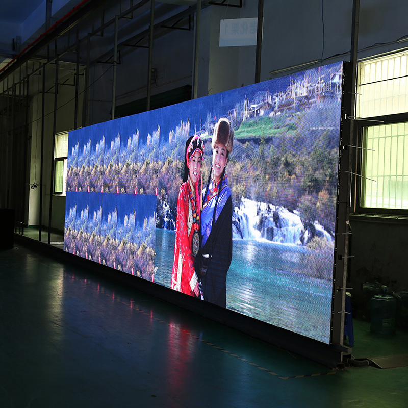 P6  Full Color High Brightness Panels Indoor Rental Advertising Display