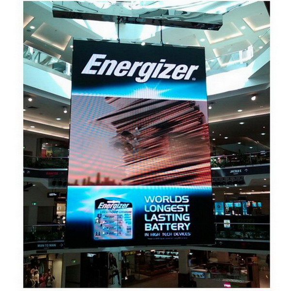 P7.62  Full Color High Brightness Panels Indoor Rental Advertising Display